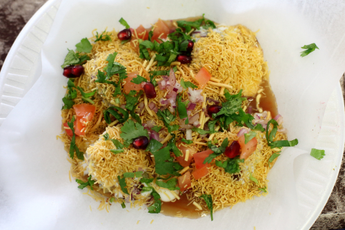 Sev puri  Chaat & Juice Express  Jersey City