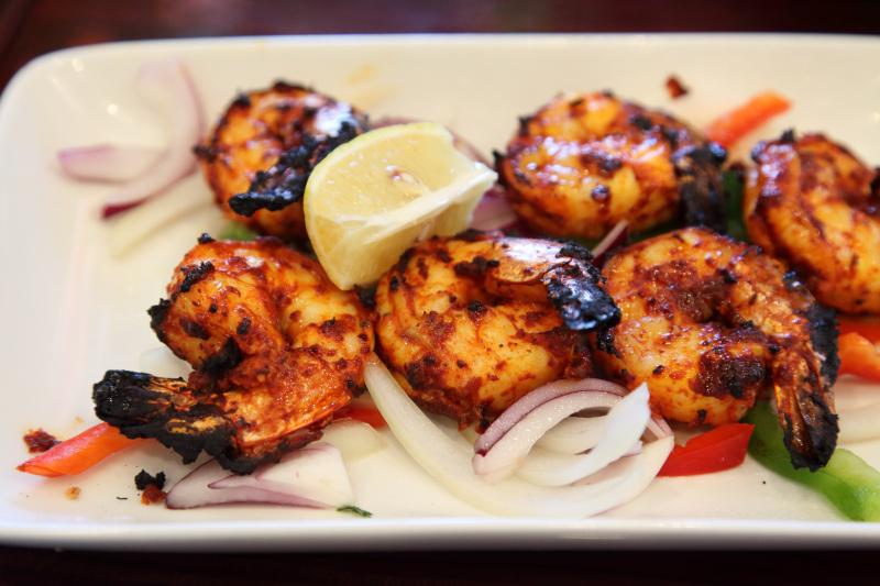 Goan tandoori shrimp  Cardamom  Sunnyside  Queens