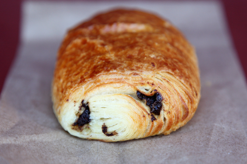 Chocolate croissant  LW African Market  Morrisania  Bronx