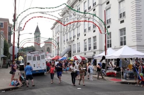 Saint Ann's Italian Festival  Hoboken  New Jersey