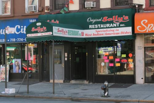 Sally's Restaurant  Bedford-Stuyvesant  Brooklyn
