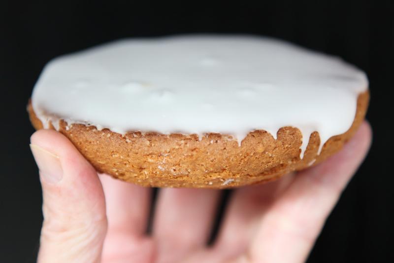 All-white cookie  The Donut Pub  West 14th St  Manhattan