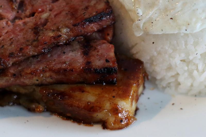 Breakfast plate (detail)  Hanoi House  St Mark's Pl  Manhattan