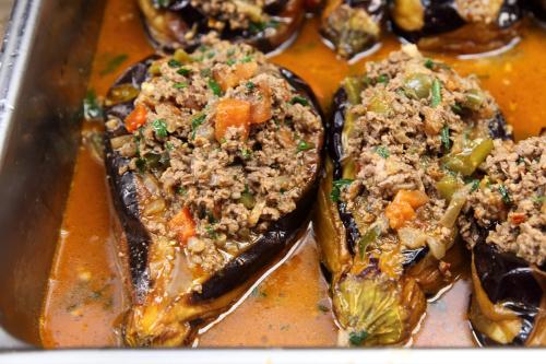 Stuffed eggplant  Mangal Kebab  Sunnyside  Queens