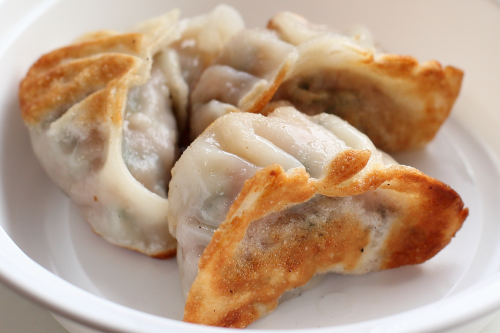 Fried dumplings  Mama's Noodle House  Bensonhurst  Brooklyn