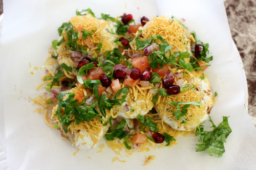 Dahi puri  Chaat & Juice Express  Jersey City