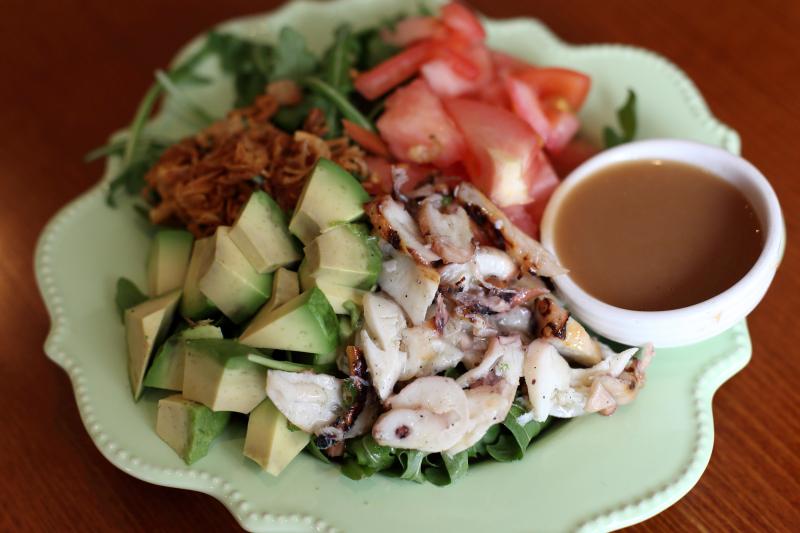 Pugita (octopus) salad  FOB  Carroll Gardens  Brooklyn