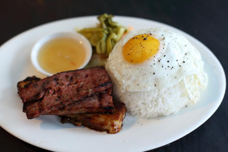 Breakfast plate  Hanoi House  St Mark's Pl  Manhattan