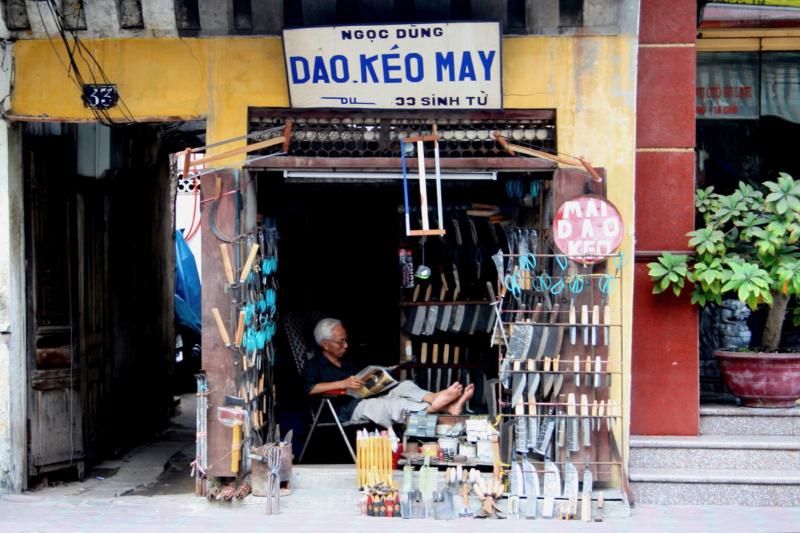 Shop owner  Hanoi