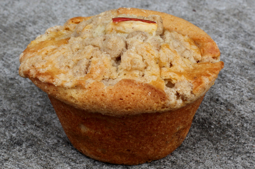Apple crumb muffin  Sensible Edibles  Long Island City  Queens