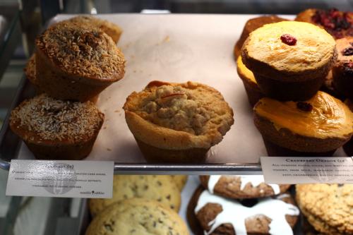 Apple crumb muffin  Sensible Edibles  Long Island City  Queens