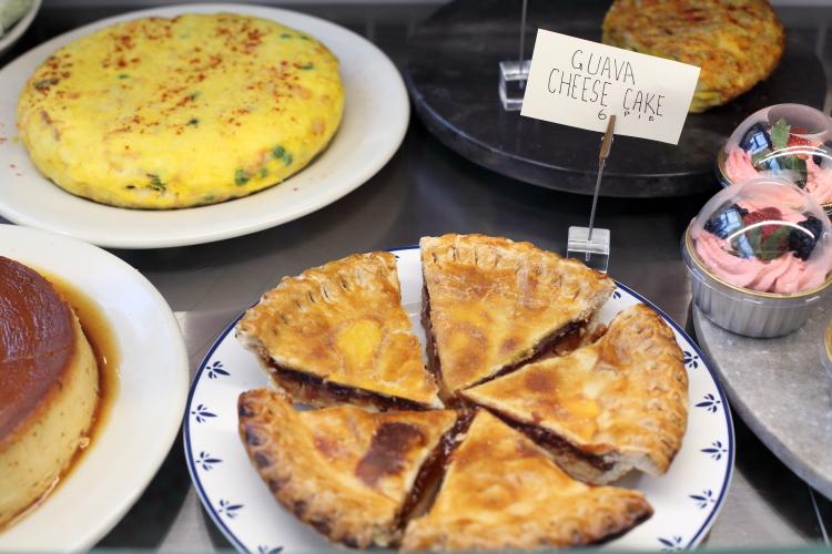 Guava cheese pie  Pilar Cuban Bakery  Bedford-Stuyvesant  Brooklyn