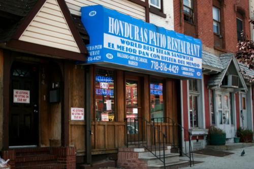 The former Honduras Patio Restaurant  Tompkinsville  Staten Island