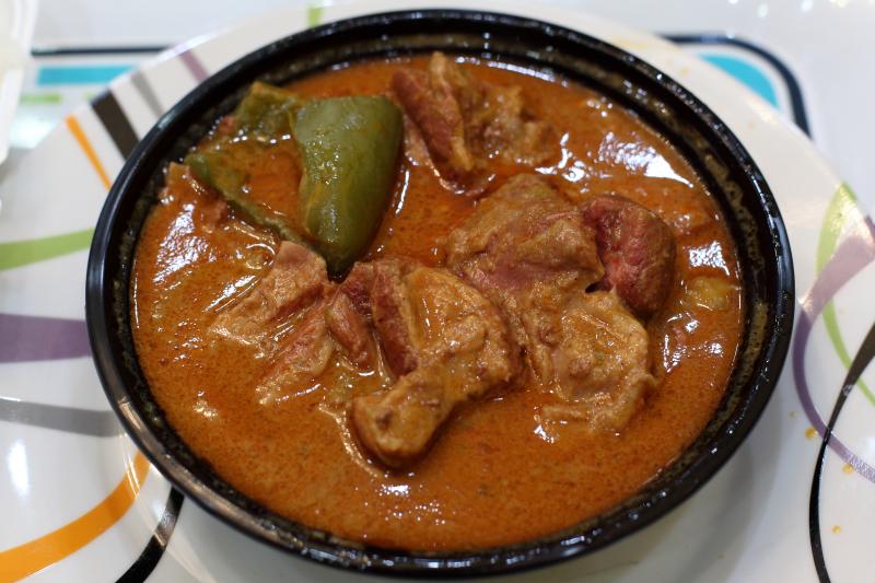 Sauce arachide  Burkindi Restaurant  Newark  New Jersey
