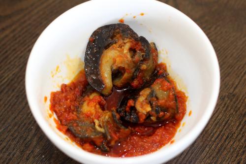 Peppered snail  Honey Bee's Kitchen  Canarsie  Brooklyn