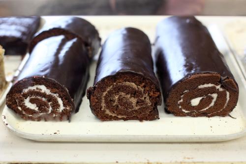 Chocolate rolls  Moishe's Kosher Bakery  Grand St  Manhattan