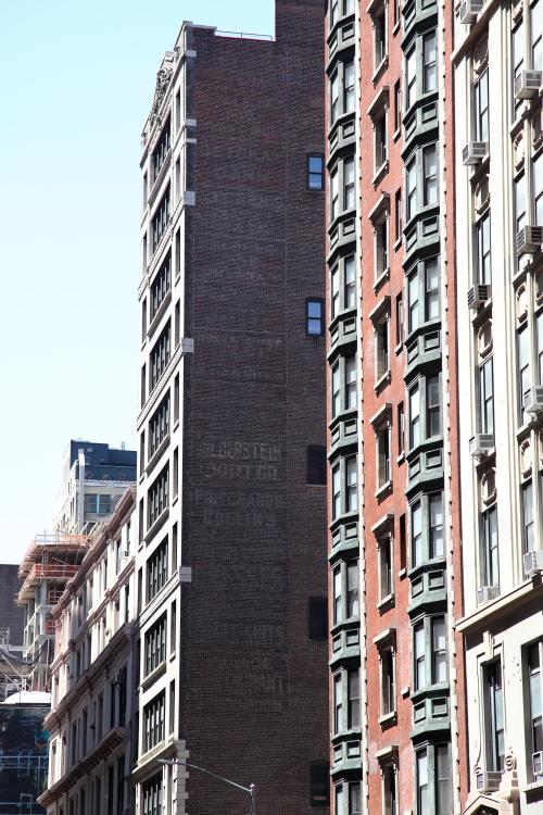 Surviving signage  East 28th St  Manhattan