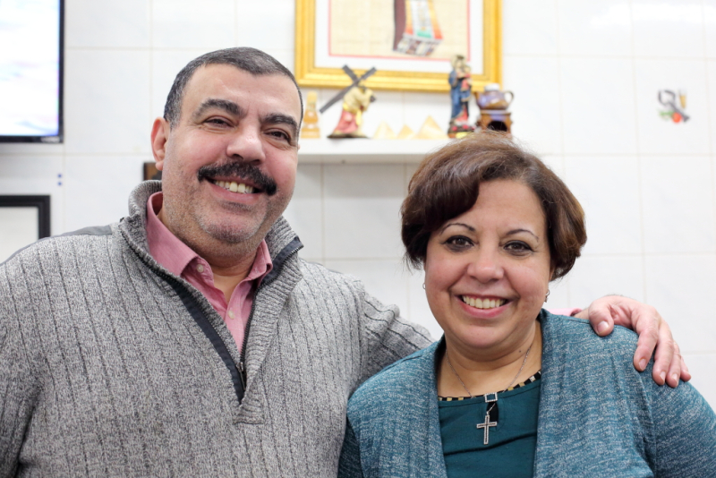 Nashaat Youssef (Nash) and Nagwa Hanna (Hanna)  Little Egypt  Ridgewood  Queens (CB)