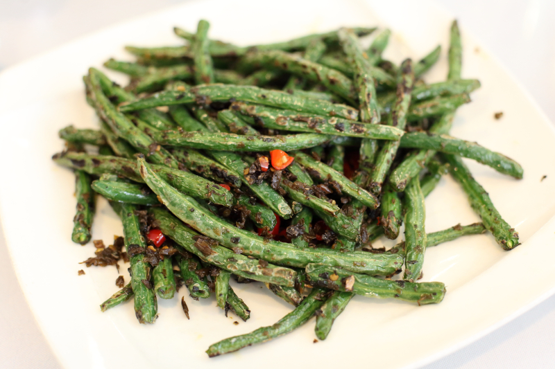 Dry-sauteed string beans  Little Pepper  College Point  Queens