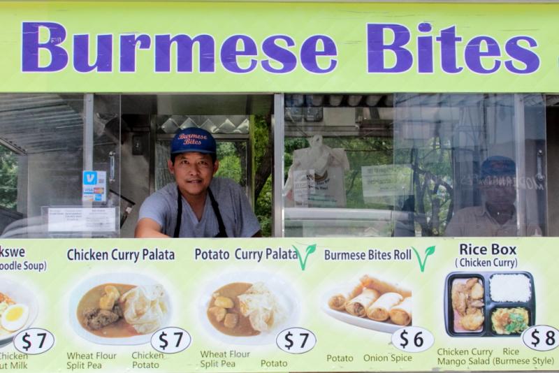 Myo Lin Thway  Burmese Bites  Long Island City  Queens