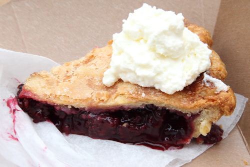 Blackberry pie  Pies 'n' Thighs  Williamsburg  Brooklyn