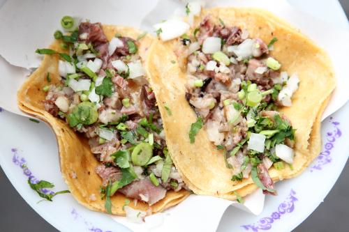 Tacos de ojo  Los Cocuyos  Mexico City