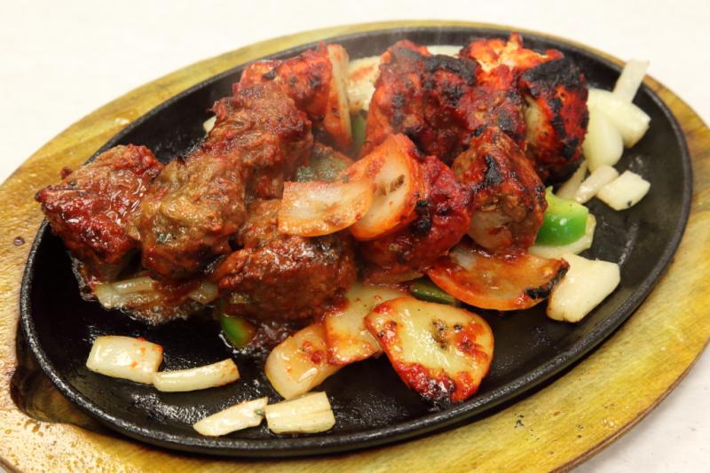 Rib-eye and chicken mishkaki  Addy's Barbeque (CB)