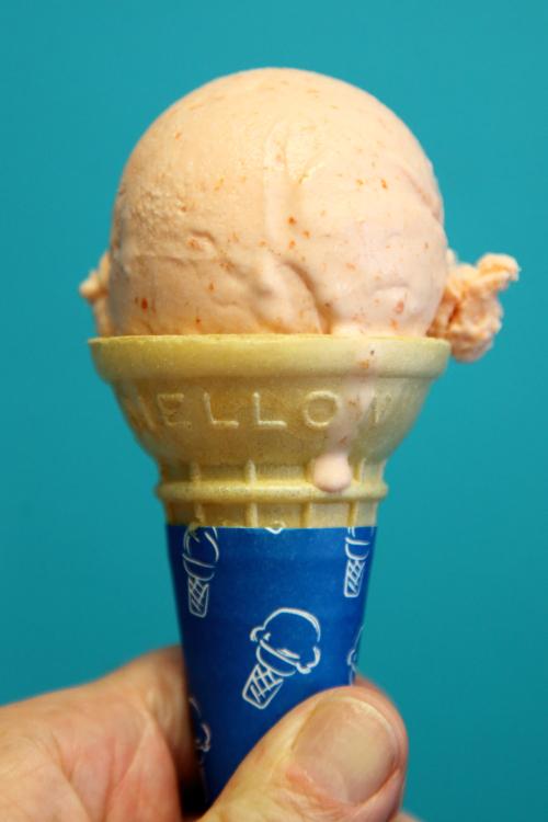 Mamey ice cream  Paletas y Helados Bambino  Philadelphia