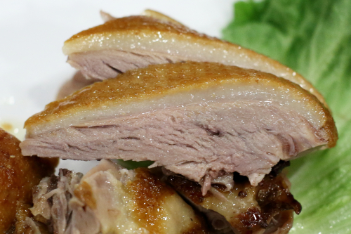 Smoked duck  OK Canaan  Flushing  Queens
