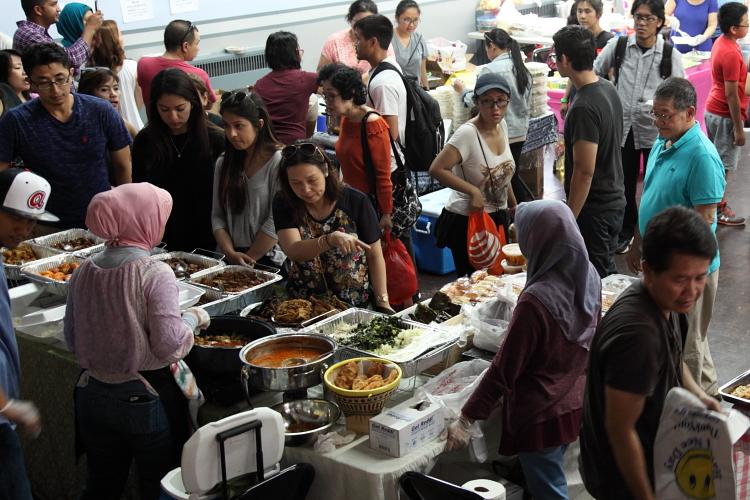 Pecel Ndeso  Indonesian bazaar at St James Episcopal Church  Elmhurst  Queens