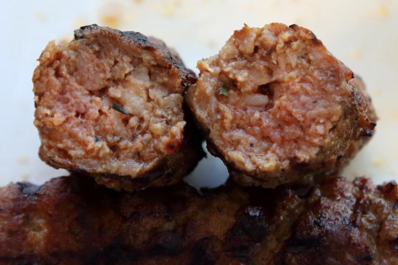Dracula sausages  House of Gyro & Shawarma  Ridgewood  Queens