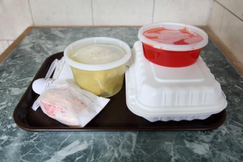 Sweet and sour chicken lunch special  Peking Garden  Broadway  Manhattan