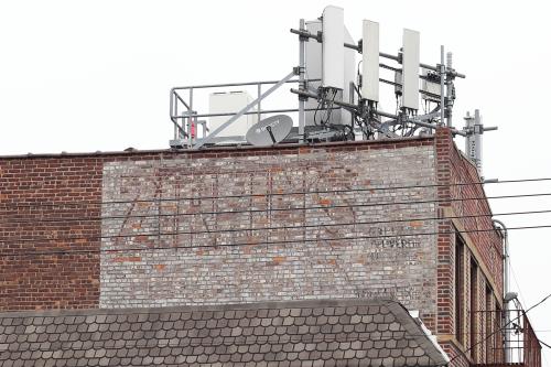 Zirkin's  surviving signage for a kosher butcher shop  Canarsie  Brooklyn