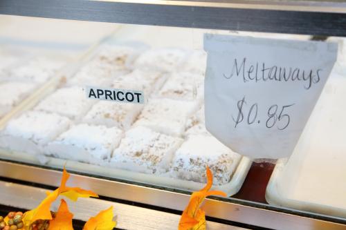 Apricot meltaways  Paulanto Bakery  Bayonne  New Jersey