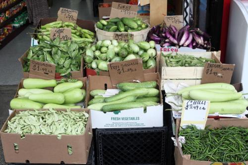 Vegetables  Taj Grocery  Jackson Heights  Queens