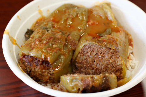 Stuffed peppers (special)  Teta's Kitchen  Astoria  Queens