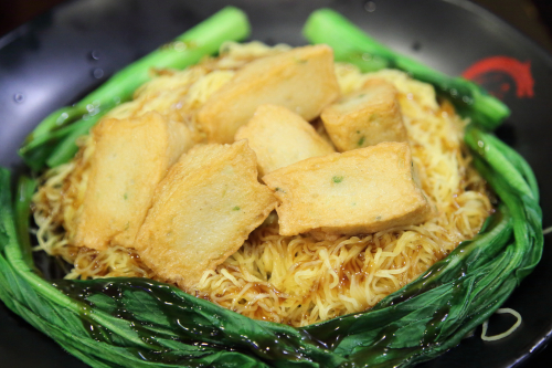 Fish cake end cut lo mein  E Noodle  Catherine St  Manhattan