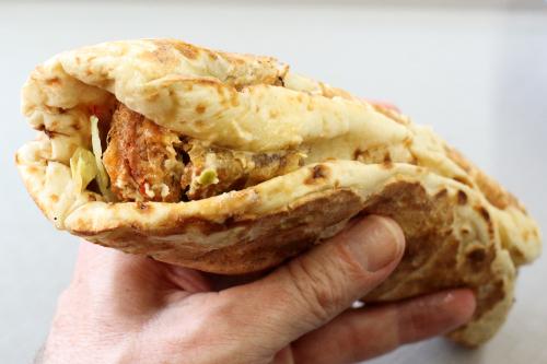 Shami kabab roll  Desi BBQ Pulao Kabab  Astoria  Queens