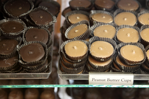 Peanut butter cups  Aigner Chocolates  Forest Hills  Queens