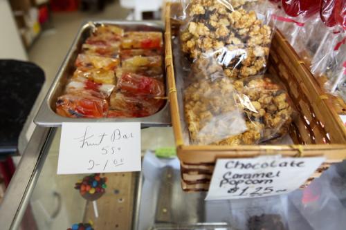 Fruit bar  handwritten sign  Philip's Candy  Elm Park  Staten Island