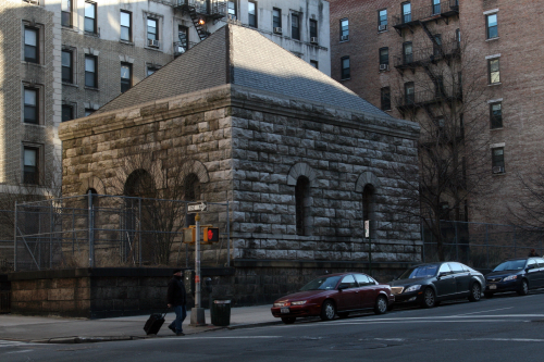 Former gatehouse for the Croton Aqueduct  Amsterdam Avenue  New York