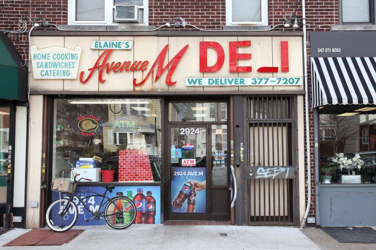 Elaine's Avenue M Deli  Midwood  Brooklyn