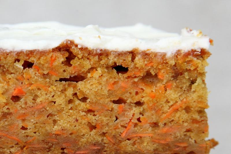 Carrot cake  Autumn Treasure  Bake  and Book Sale  Church of the Resurrection  Kew Gardens  Queens