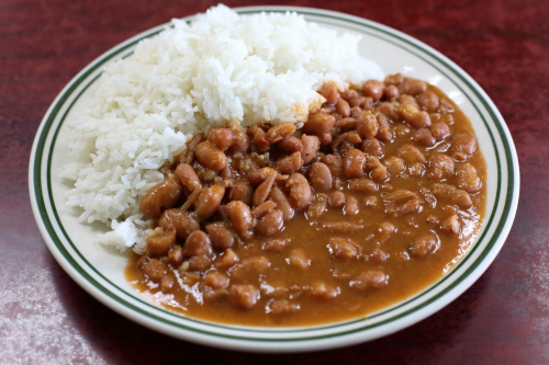 Rice and beans  La Morena  Foxhurst  Bronx
