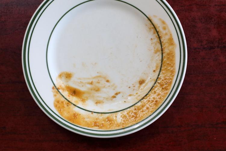 Leavings of rice and beans  La Morena  Foxhurst  Bronx