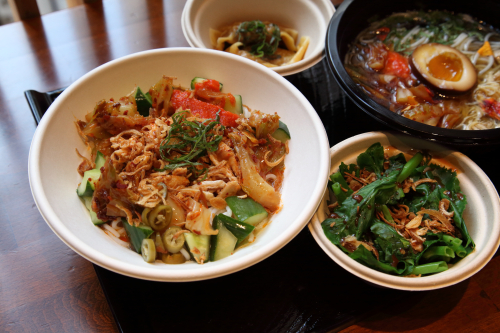 Noodles and sides  Little Tong Noodle Shop  East 53rd St  Manhattan