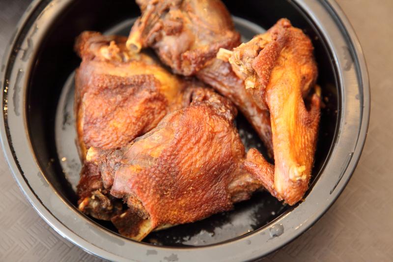 Hard chicken  Tessey's International Kitchen  Allerton  Bronx