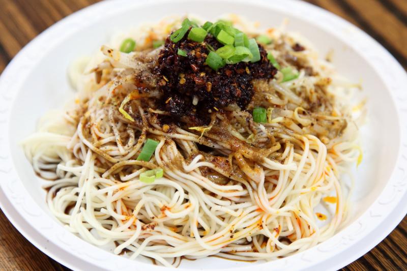 Chengdu cold noodles  Chengdu Tianfu  Golden Mall  Flushing  Queens