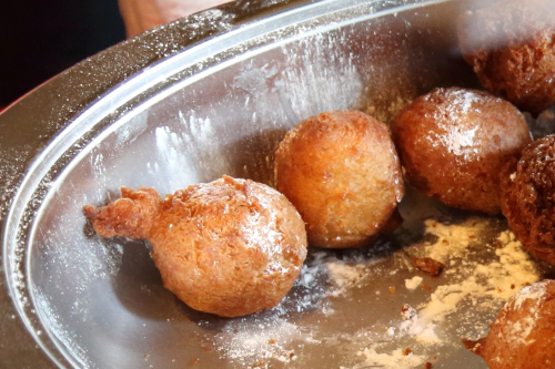 Coconut fritters  Linda A Cooks  New York African Restaurant Week Festival  MIST Harlem  West 116th St.  Manhattan