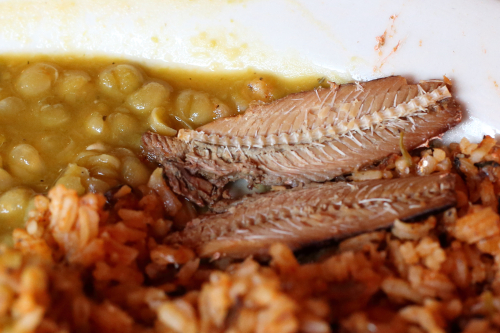 Locrio de pica pica  rice with spicy sardines  L'Fonda  Amsterdam Ave  Manhattan